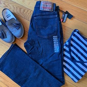 DIESEL Fanker Boot Cut Jeans Sz 30 NWT